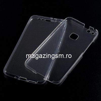Husa 2 in 1 Fata Spate Huawei P10 Lite TPU Transparenta