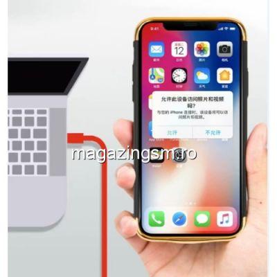 Husa Acumulator Extern Power Bank iPhone X 5000mAh Neagra