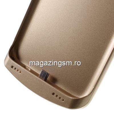Husa Acumulator Extern Power Bank Samsung Galaxy S7 Edge G935 5200mAh Aurie