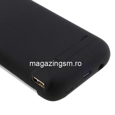 Husa Acumulator Extern Power Bank Samsung Galaxy S8 G950 5500mAh Neagra