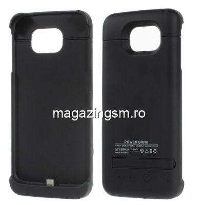 Husa Acumulator Extern Power Bank Samsung Galaxy S6 G920 Neagra