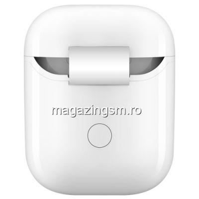 Husa Cu Receptor Qi Wireless Apple AirPods