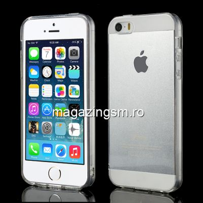 Husa Flexibila Gel TPU iPhone 5s 5 Transparenta