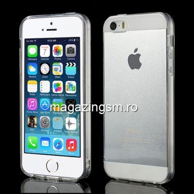 Husa Flexibila Gel TPU iPhone 5s 5 Transparenta