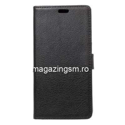 Husa Flip Cu Stand Asus Zenfone 4 Max ZC520KL Neagra