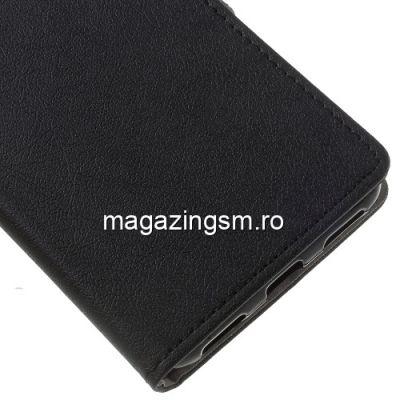 Husa Flip Cu Stand Asus ZenFone 4 Selfie ZD553KL Neagra