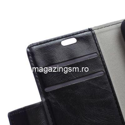Husa Flip Cu Stand Asus ZenFone Live L1 ZA550KL Neagra