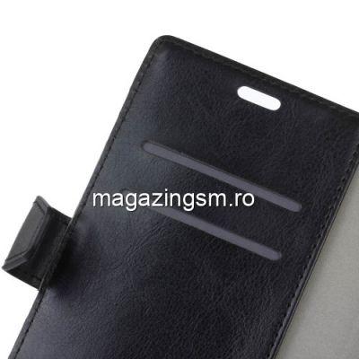 Husa Flip Cu Stand HTC 10 Evo Neagra