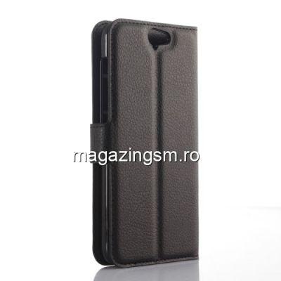 Husa Flip cu Stand HTC One A9 Neagra