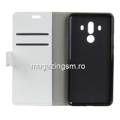 Husa Flip cu Stand Huawei Mate 10 Pro Alba