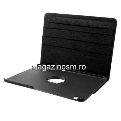 Husa Flip Cu Stand iPad Pro 12,9 2018 Rotire 360 De Grade Neagra