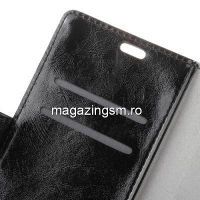 Husa Flip Cu Stand LG K10 2018 Neagra