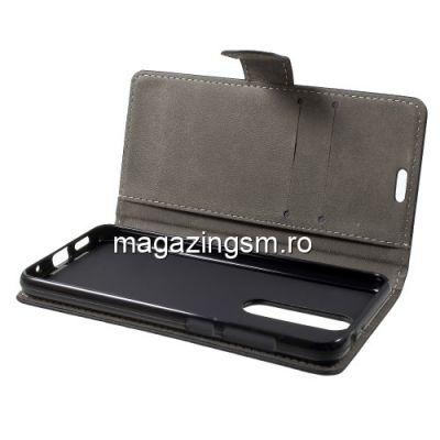 Husa Flip Cu Stand Nokia 5,1 Plus Neagra