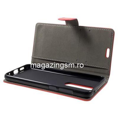 Husa Flip Cu Stand Nokia 5,1 Plus Rosie