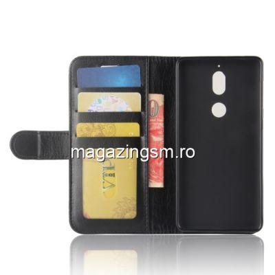 Husa Flip Cu Stand Nokia 7 Neagra