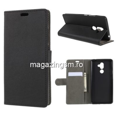 Husa Flip Cu Stand Nokia 7 Plus Neagra