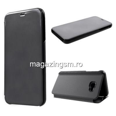Husa Flip Cu Stand Samsung Galaxy J4 Plus 2018 Neagra