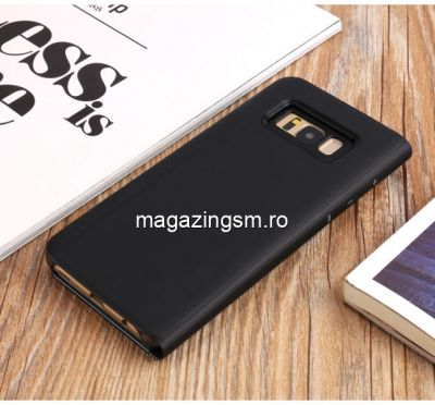 Husa Flip Cu Stand Samsung Galaxy S8 G950 Neagra