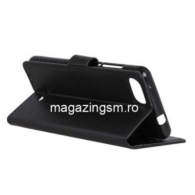 Husa Flip Cu Stand Xiaomi Redmi 6A Neagra