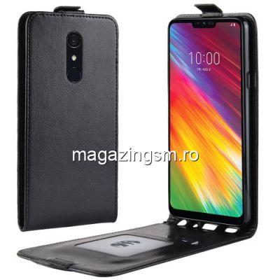 Husa Flip LG G7 Fit Neagra