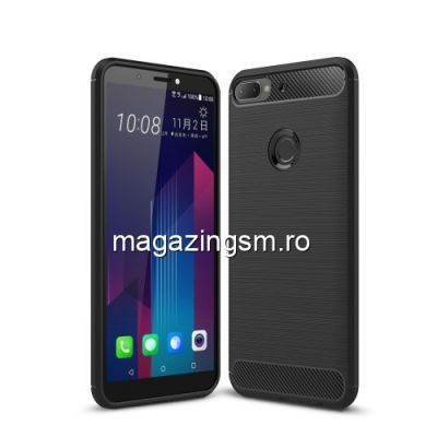 Husa HTC Desire 12 Plus Carbon Neagra