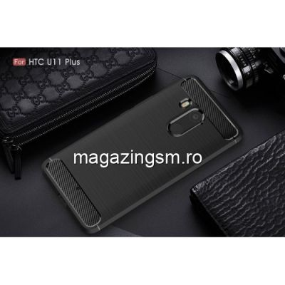 Husa HTC U11 Plus Carbon Neagra