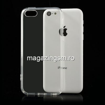 Husa iPhone 5C TPU Flexibil Transparenta