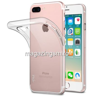 Husa iPhone 8 Plus / iPhone 7 Plus TPU Transparenta