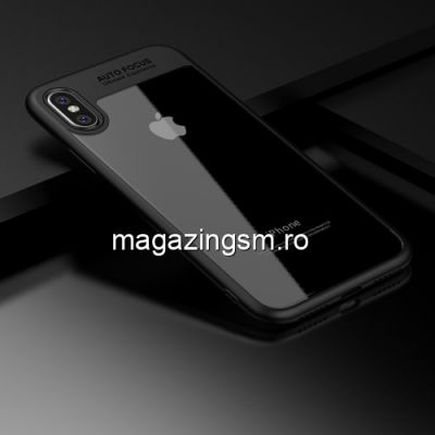 Husa iPhone X Hybrid Neagra