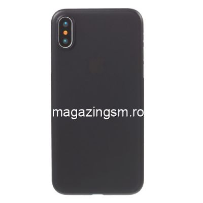 Husa iPhone X Slim Neagra