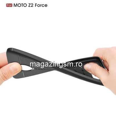 Husa Motorola Moto Z2 Force TPU Neagra