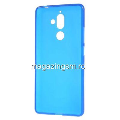Husa Nokia 7 Plus TPU Matuita Albastra