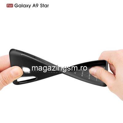 Husa Samsung Galaxy A8 Star TPU Neagra
