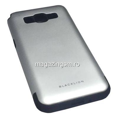 Husa Samsung Galaxy Grand Prime G530H G530F G530FZ G530Y Blacklion Series Argintie