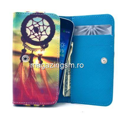 Husa Tip Portofel Universala iPhone Samsung LG Huawei HTC Dream Catcher