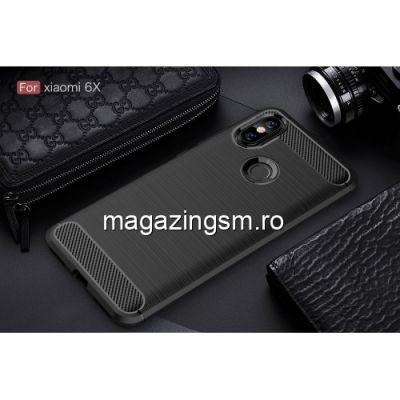 Husa Xiaomi Mi A2 Mi 6X Carbon Neagra