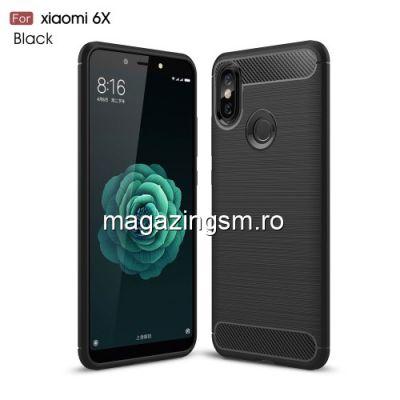 Husa Xiaomi Mi A2 Carbon Neagra