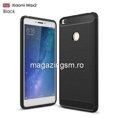 Husa Xiaomi Mi Max 2 Carbon Series Neagra