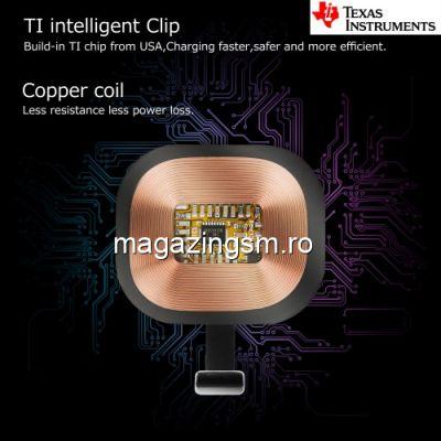 Incarcator Receptor Sticker Incarcare Wireless Apple AirPods