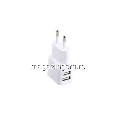Incarcator Retea Universal Dual USB 5V 2,1A / 1A