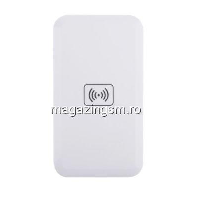 Incarcator Wireless iPhone 8 Samsung Galaxy S8 Universal Alb