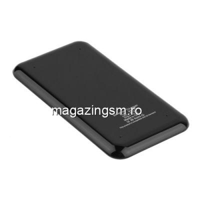 Incarcator Wireless iPhone 8 Samsung Galaxy S8 Universal Negru