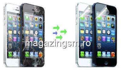 Inlocuire Geam Sticla Display Ecran iPhone 8 Plus Alb