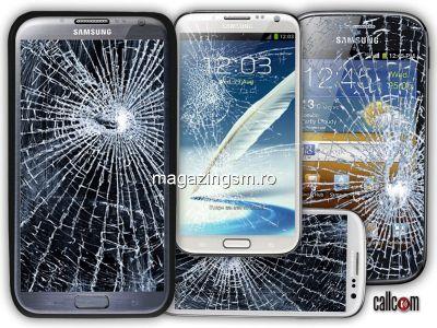 Inlocuire Geam Sticla Samsung Galaxy S6 Edge Alb