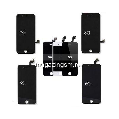 Pachet Display-uri iPhone 5 5s 6 6s 7 8 - 6buc (Negre)