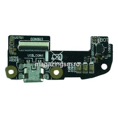 Placa Circuit Cu Conector Incarcare Si Microfon Asus Zenfone 2 ZE550ML Originala