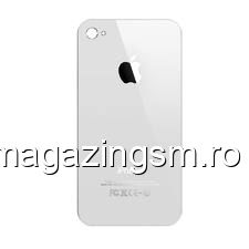 Capac Baterie Spate iPhone 4 Alb