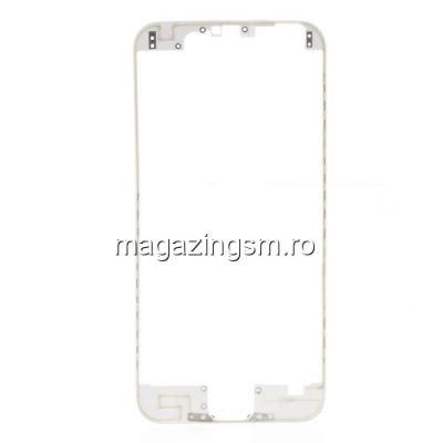 Rama Display iPhone 6 Cu Adeziv Alb