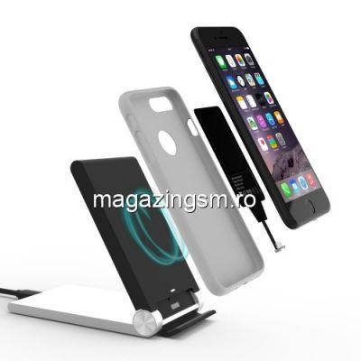 Incarcator Receptor Sticker Incarcare Wireless iPhone 5 / 5s / 5c / 6 / 6s / 6 Plus / 6s Plus / 7 / 7 Plus