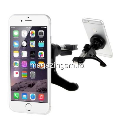 Suport Auto Magnetic iPhone Samsung Nokia LG HTC BlackBerry Sony Universal Negru